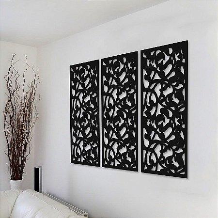 Trio de Painéis Decorativos - Paisagem - P30