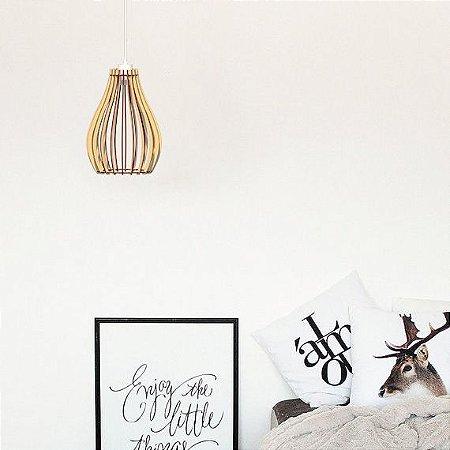 Lustre Pendente Luminária Bivolt - Florença