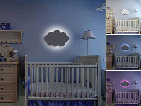 Luminária de Parede formato Nuvem com LED