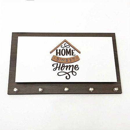 Porta Chaves e Cartas - Home Sweet Home 2