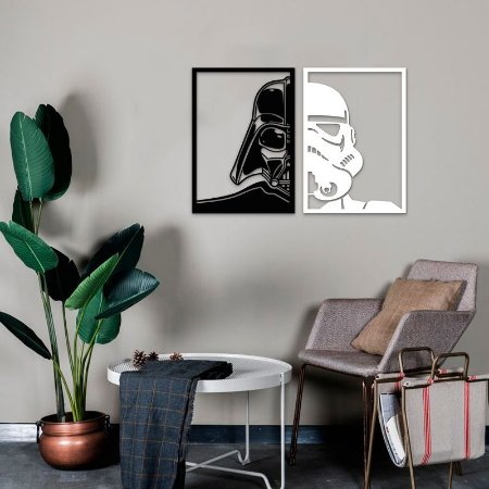 Quadro Star Wars - Império