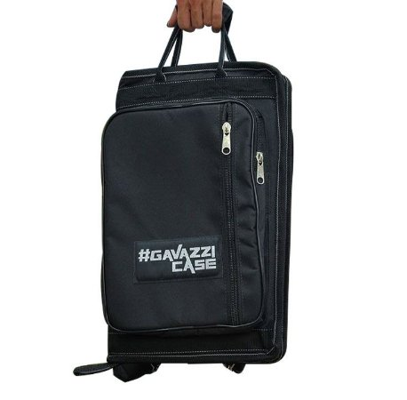 Bag de Baquetas Nylon Luxo - Preto