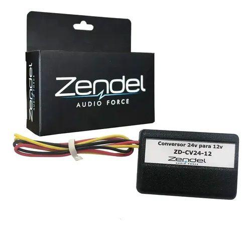 Conversor De Voltagem De 24v Para 12v Zendel