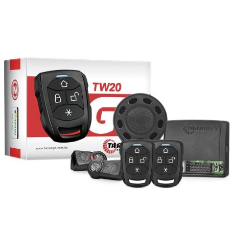 ALARME AUTOMOTIVO TW 20 G3 - 2 CONTROLES