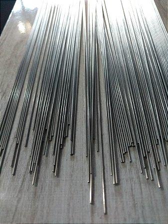Arame de Aço Inox Polido - 1 metro x 1,2 mm - Pacote com 5 Kg.