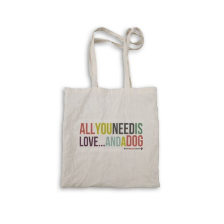 """Ecobag """"All you need is love"""""""