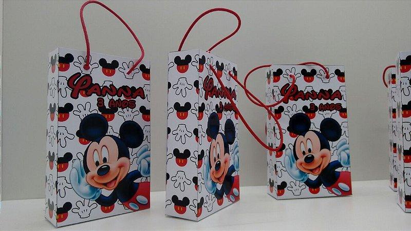 Sacolinhas Personalizadas Mickey