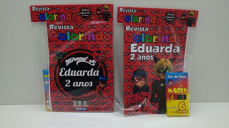 10 Revista de colorir miraculous