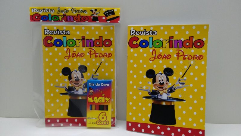 10 Revista de colorir Mickey Magico