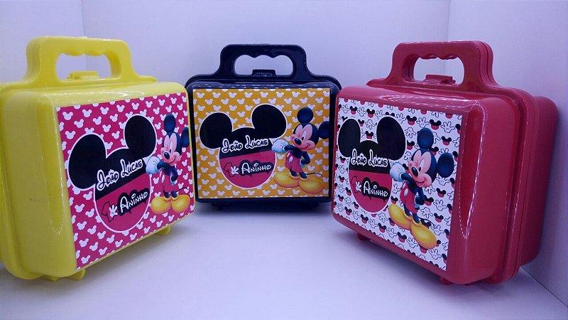 Maletinha Mickey (Personalizamos em todos os temas)