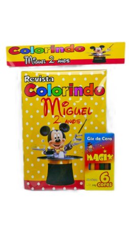 15 Revista de colorir Mickey Magico