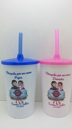 1 Copo Lembrancinha Daminha ou Pajem