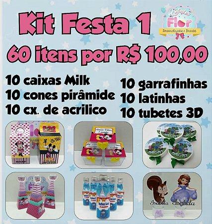 Kit Festa 60 itens