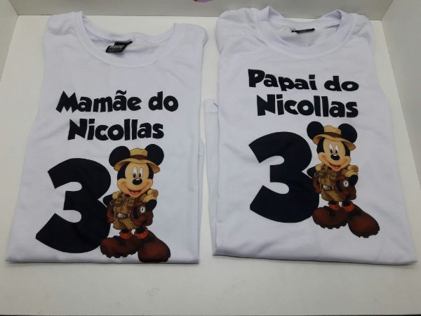 Camiseta Safari Mickey
