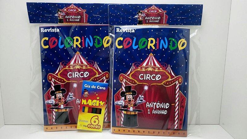 10 Revista de colorir Mickey Magico