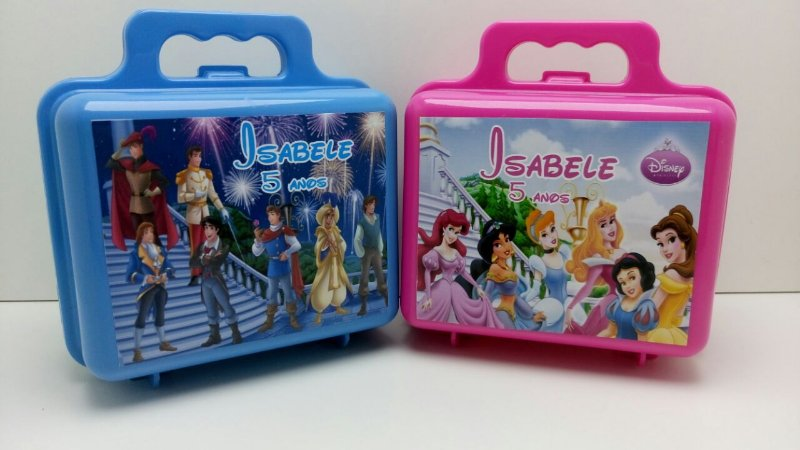 10 Maleta Princesas Disney