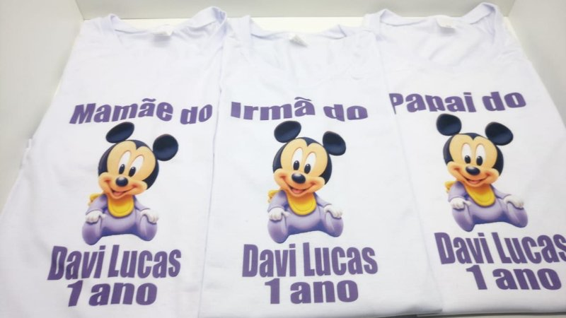 Camiseta Mickey Baby