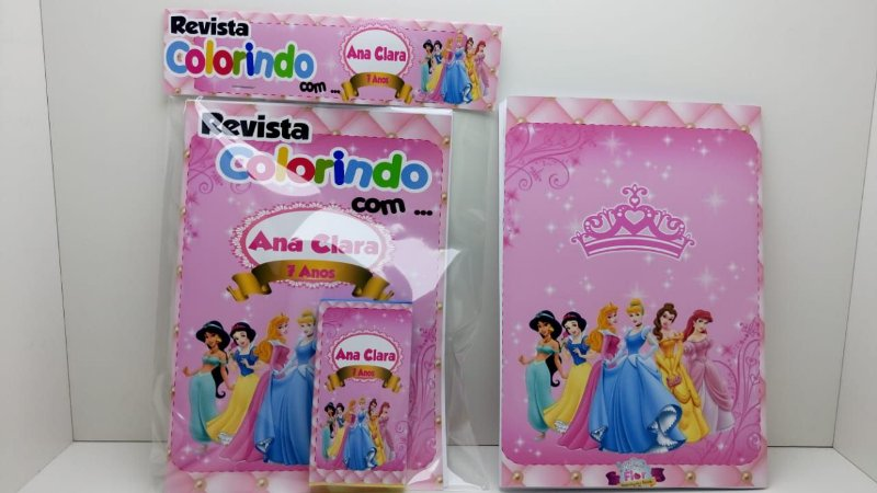 10 Revista de colorir Princesas