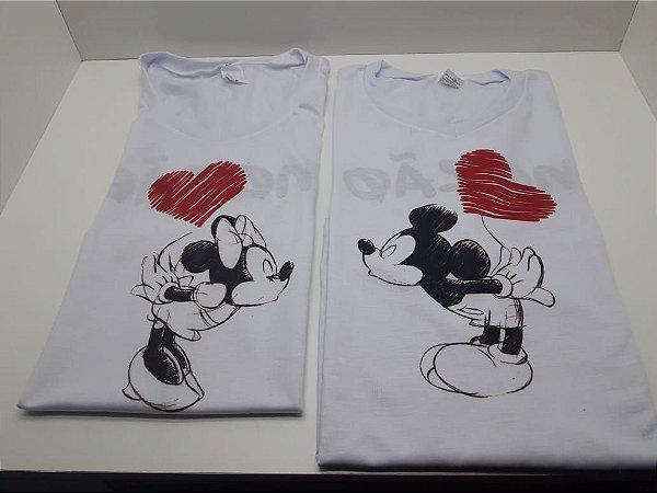 Kit Camisetas dia dos namorados (2 uni)
