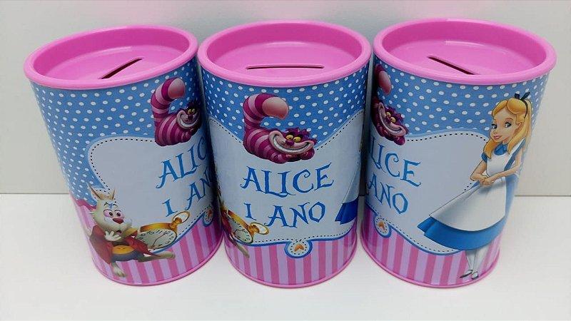 Cofrinhos Alice Pais das Maravilhas