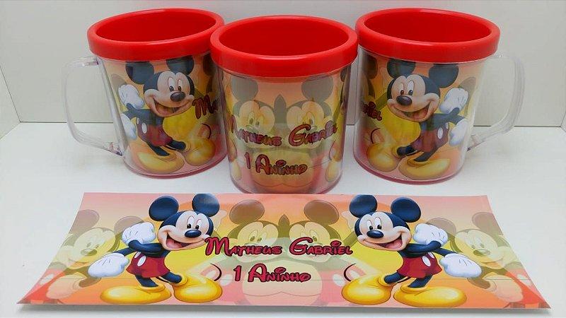 10 Canecas Mickey
