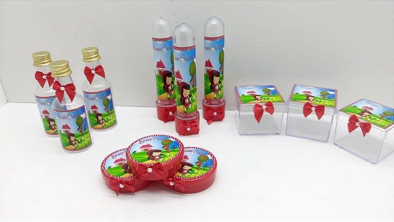 Kit Festa Chapeuzinho vermelho 100 itens