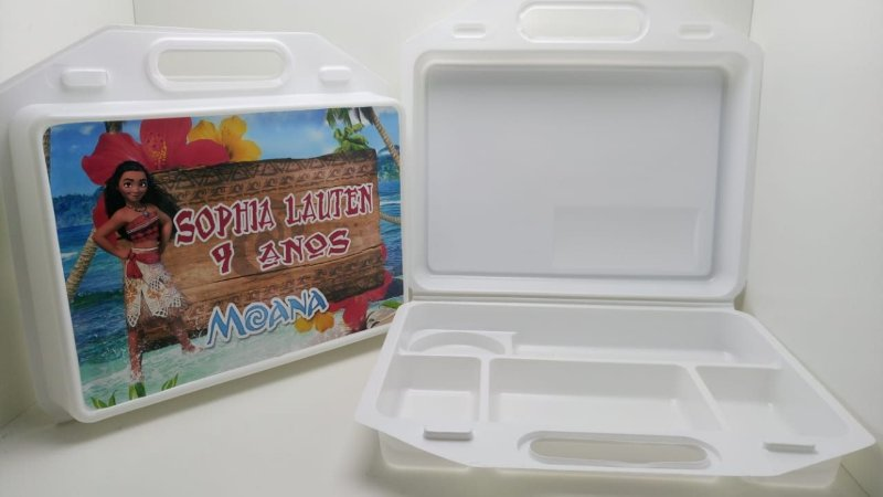 10 Maleta Kit Escolar Princesa Moana