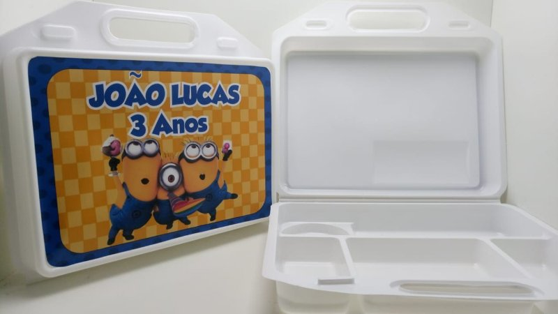 10 Kit Maleta escolar Personalizada Minions
