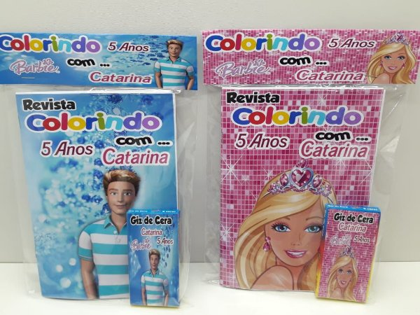 10 Revista  de colorir Barbie