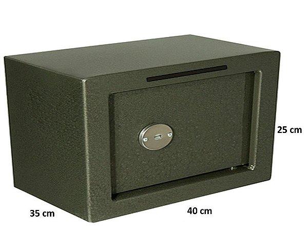 COFRE BOCA DE LOBO CHAVE TETRA 250x400x350