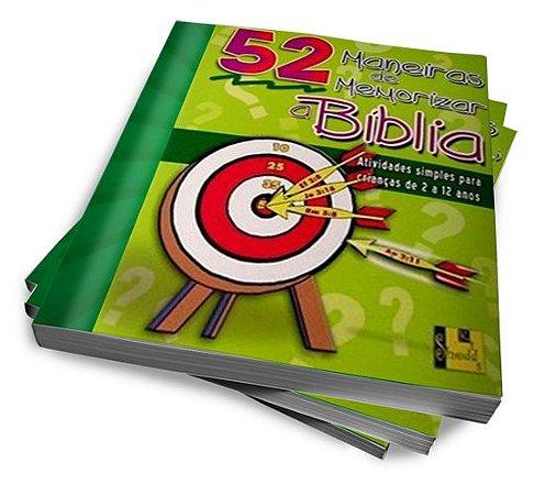 52 MANEIRAS DE MEMORIZAR A BÍBLIA — KIT 4 VOLUMES