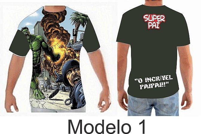 5726558ae Camisa Personalizada (dia dos pais) - Greative Color - Gráfica Online