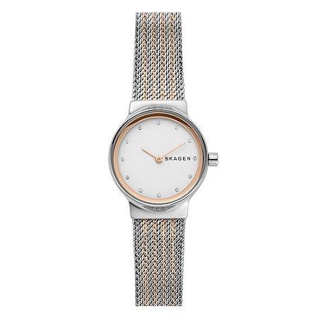 Relógio Feminino Skagen Ladies com Pulsira Mista SKW26991KN