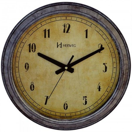 Relógio de Parede Herweg Analógico Estilo Retrô 6657273