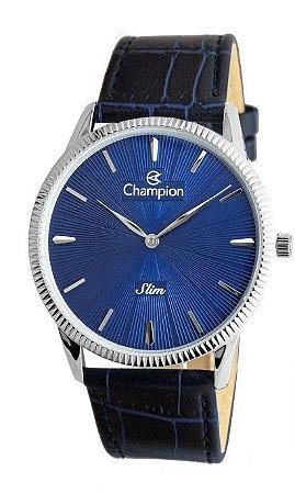 Relógio Masculino Champion Pulseira em Couro Mod: CA21820F