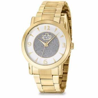 Relógio Feminino Champion com Colar e Brincos Mod: CN25136W