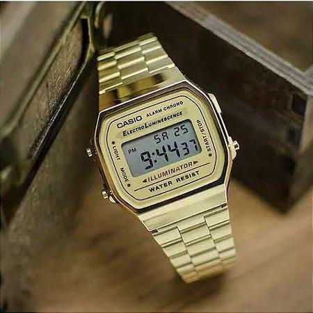 Relógio Unissex Casio Digital Fashion A168WG-9WDF