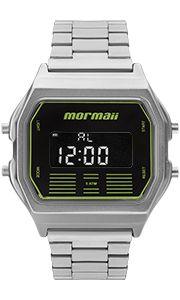 Relógio Unissex Mormaii Digital Retrô Mobj3715b3p