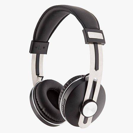 Fone de Ouvido Bluetooth Over Ear Sem Fio Geonav Black