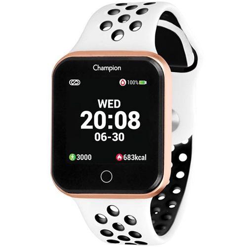 Relógio Champion Smatwatch Rose e Branco CH50006W