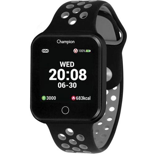 Relógio Champion Smartwatch Preto e Cinza CH50006D