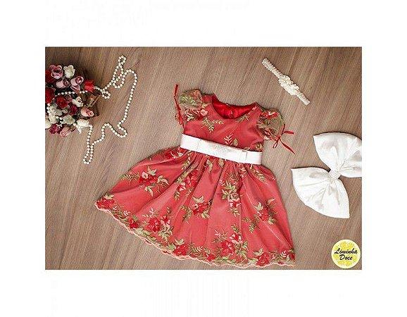 Vestido Vermelho - Infantil