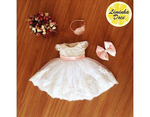 Vestido para Daminha em Treinamento - Infantil