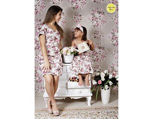 Vestido Floral - Tal Mãe tal Filha