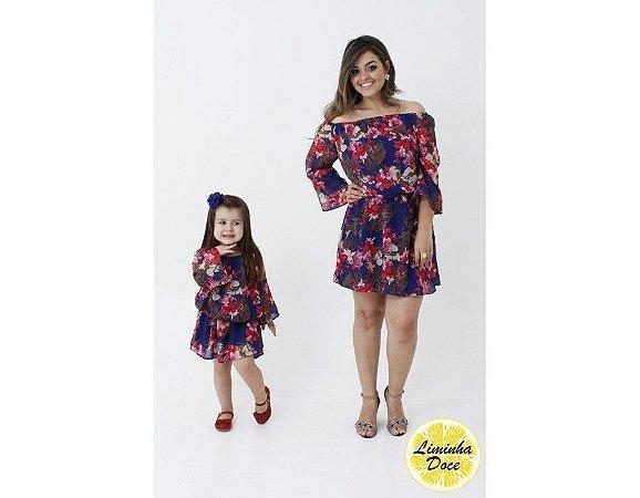 Conjunto de Vestido Tomara que Caia - Mãe e Filha