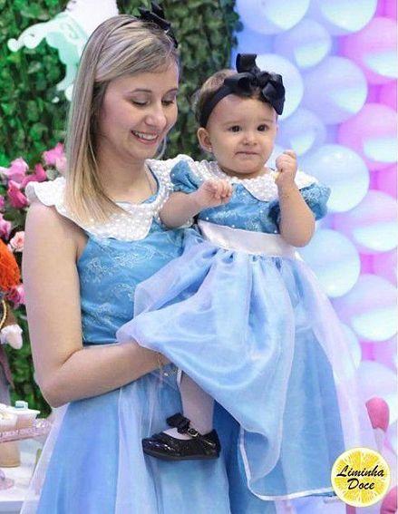 Vestido de Festa Social - Tal Mãe Tal Filha