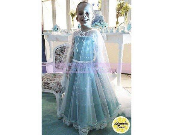 Vestido Frozen - Infantil