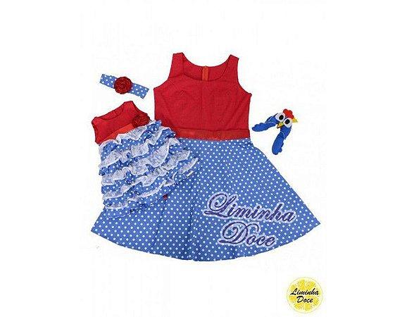 Vestido da Galinha Pintadinha - Tal Mãe Tal Filha