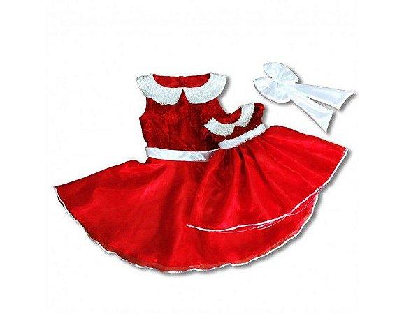 Vestido Chapeuzinho Vermelho - Mãe e Filha