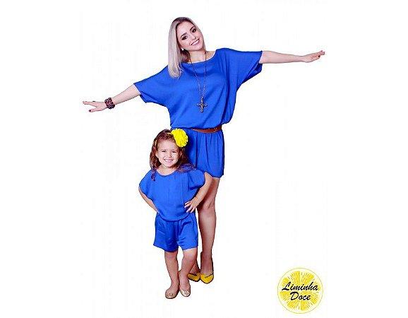 Macaquinho Azul - Tal Mãe Tal Filha